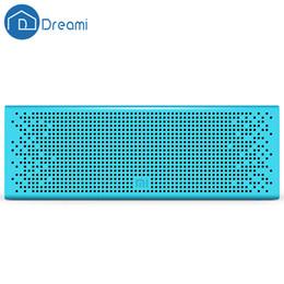 Großhandel-Dreami Xiaomi Mi Bluetooth-Lautsprecher Bluetooth Xiaomi-Lautsprecher Drahtlose Freisprecheinrichtung Super Bass Stereo Für Smartphone Tablet PC