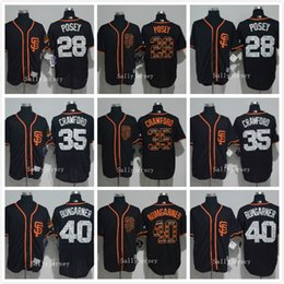 56d55a8f3 ... Orange Jersey 2017 MLB spring San Francisco Giants 28 Buster Posey 35  Brandon Crawford 40 Madison Bumgarner Baseball ...