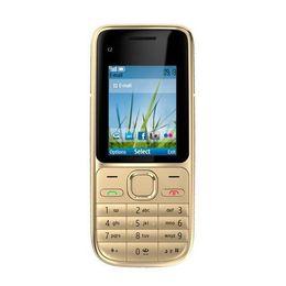 $enCountryForm.capitalKeyWord Canada - 3.2MP bar phone Camera sim card 4 stand by 2 inch C2-01 cell phone with bluetooth camera FM radio with box