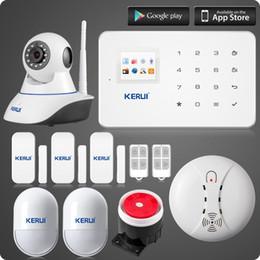 $enCountryForm.capitalKeyWord NZ - LS111- Android IOS App control gsm home alarm system+TFT color UI menu smart home security alarma kit Linkage WIFI HD N62 ip camera