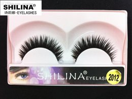 Shilina Faux Cils Pas Cher-Vente en gros! SHILINA 2015 Faux cils 1 paire Hand-made Fake Lashes Soft Naturel Long Eye Lashes Extension Maquillage professionnel