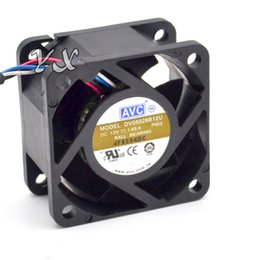 Chinese  New 5028 5CM winds of fan 12V 1.65A DV05028B12U PWM thermostat 50*50*28mm manufacturers
