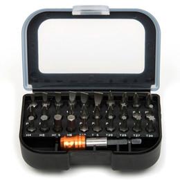 $enCountryForm.capitalKeyWord NZ - 31pcs Magnetic Tool Set Screwdriver Bits Hex Bit Sets W  Case Sturdy Chrome Vanadium Steel Screwdriver Head Set Hex Torx Bit Set