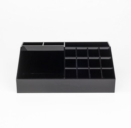 $enCountryForm.capitalKeyWord UK - Classic Acrylic Black Lipstick Multifunctional Display Stand Cosmetics Organizer Accessories Storage Boxes & Gift Boxes
