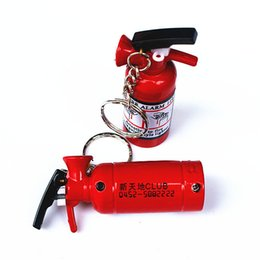 China Wholesale- Small fire extinguisher lighters, the individuality creative flame metal advertising lightersWith a key chain cheap wholesale smallest lighter suppliers