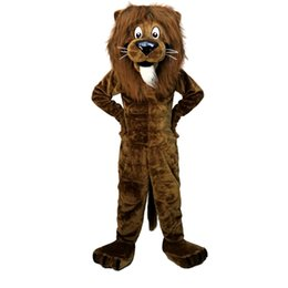 $enCountryForm.capitalKeyWord UK - Lion Mascot cartoon Halloween dress Custom clothing High quality Carnival costumes 01