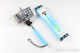 Discount poles direct - Free DHL Z07-5Plus z07-5 Z07-5S Extendable Wired Monopod Selfie Stick direct grooveTripod Handheld Monopod Cable Take Po