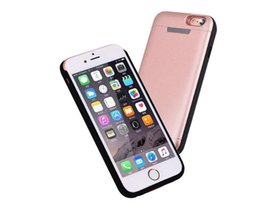China Battery Case for iPhone 6 7 Armor Case Power Bank Back Cover for iPhone 7 Plus Battery Backup big High Capacity 5200mAh 7500mAh suppliers