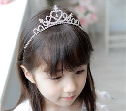 $enCountryForm.capitalKeyWord NZ - Wholesales new frozen children girls hair accessories Princess baby hair comb hair girl Combs large peacock tail diamond crown SP-105