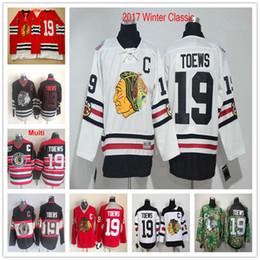 3276da61b  19 Jonathan Toews 2017 Winter Classic White CCM Black Red 75TH Chicago  Blackhawks Ice Hockey Jerseys For Sale supplier jonathan toews winter  classic jersey