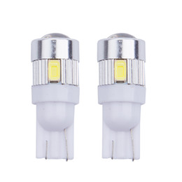 $enCountryForm.capitalKeyWord UK - T10 194 5630 6 smd 6 Led Car Light W5W Bulb clearance light turn wedge side parking lamp projector lens car styling