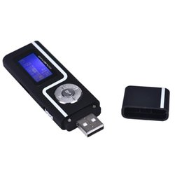 watch player 2018 - Wholesale- 2017 Mini Portable USB MP3 Music Player Digital LCD HD Screen Plaer MP3 Support 16GB TF Card FM Radio MP3 Pla