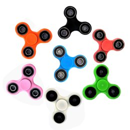 tri spinner fidget toy 2018 - 2017 Hot !! EDC Fidget Spinner toy finger spinner toy Hand tri spinner HandSpinner EDC Toy For Decompression Anxiety Toy