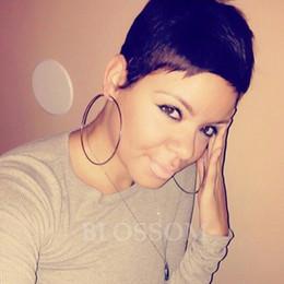 $enCountryForm.capitalKeyWord Canada - New brazilian hair short natural wigs glueless full lace front human hair short bob wigs for black women short Pixie Cut wigs