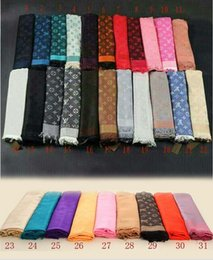 $enCountryForm.capitalKeyWord Australia - 2019 States women's fashion scarf shawl scarf double letters big square, 140-140 free shipping