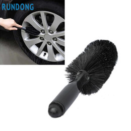 car clean tools 2019 - Wholesale- New Arrival Car Vehicle Motorcycle Wheel Tire Rim Scrub Brush Washing Cleaning Tool Cleaner M16 cheap car cle