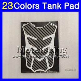 Discount honda cbr gas cap - 23Colors 3D Carbon Fiber Gas Tank Pad Protector For HONDA CBR1000RR 15 16 17 CBR 1000 RR 1000R CBR1000 RR 2015 2016 2017