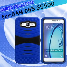 $enCountryForm.capitalKeyWord NZ - Shockproof For Samsung ON5 LG LV3 MS210 silicon+pc 2 in 1 wave Kickstand Hybrid robot combo phone case