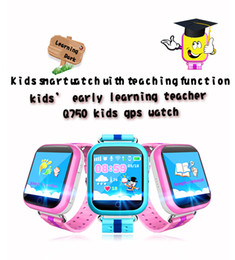 """Track Kid Gps NZ - 2016 NEW Kids Safe GPS tracking Watches touch screen 1.54"""" Smart Wristwatch Q750 SOS Call Finder Locator Tracker Anti Lost GSM"""