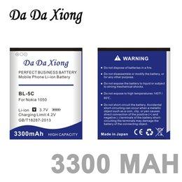 Discount batteries bl 5c - Da Da Xiong 3300mAh BL-5C Li-ion Phone Battery for Nokia C2-06 C2-00 X2-01 1100 6600 6230 5130 2310 3100 6030 3120 3650