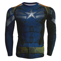 aa2b0aa7821d Fashion-Marvel 2D Sweatshirt Superhero Long Sleeve Amour Compression Basic  Fitness 2d Hoodies Clothing Cool Man Tops Crewneck Sudaderas