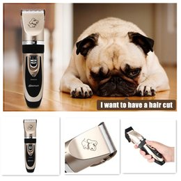 Discount hair cuts - Excellent Cutting Experience Professional Rechargeable Cordless Pet Hair Clipper with Grooming Kit for Dogs Cats House A