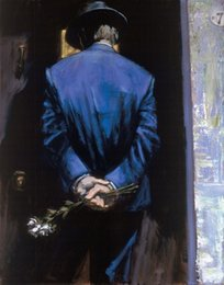$enCountryForm.capitalKeyWord Australia - Framed Nocturnal Surprise by Fabian Perez,Pure Hand Painted Impressionism Portrait Art Oil Painting On Thick Canvas.Multi Sizes Fp004