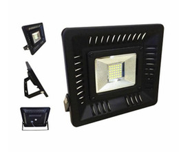 lawn floodlights UK - New Arrive Ultrathin LED Outdoor Floodlights 3528 SMD 50W Waterproof Garden Light Lawn Lamps Warm White MYY