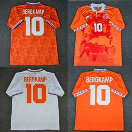 94 96 Retro Soccer Jersey Netherlands Bergkamp 88 van Basten 1988 1994 1996  Shorts Football Shirts Voetbal Holland Seedorf Orange Uniforms 59088ce09