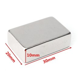 magnets block NZ - N52 30x20x10mm Neodymium Block Magnet