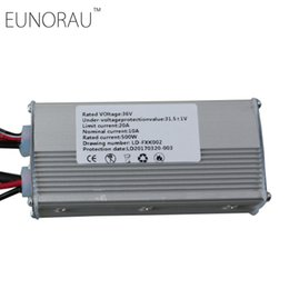 Chinese  36V20A block-wave electric bike controller for 36V500W bicycle front rear hub wheel motor kit Free shipping manufacturers