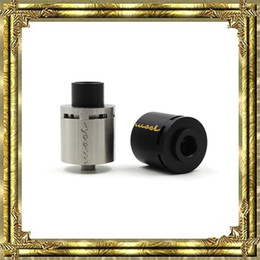 Discount mose atomizer Mose RDA Clone Atomizers E Cigarettes 24mm RDA Vaporizer 2 Posts With Peek Insulator Black Silver Gold Atomizers