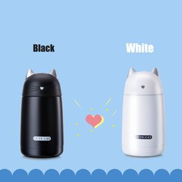 $enCountryForm.capitalKeyWord NZ - Cute Cat Thermos Cup Pets Kids Thermo Mug Child 330ML Water Bottle Stainless Steel Vacuum Cup For Kids