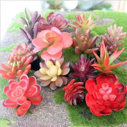 Discount Artificial Plants Living Room 4pcs Lot Succulent Lotus Lithops  Plants Simulation Artificial Flowers Ornaments Garden