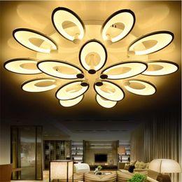 Reasonable Modern 16 Petals Flower Led Ceiling Light Fixture White Acrylic Flush Mounted Ceiling Lustre For Parlor Hotel Restaurant Lamp Ceiling Lights & Fans Lights & Lighting