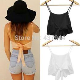 $enCountryForm.capitalKeyWord Australia - Wholesale- Hot New Fashion Sexy Women Sleeveless Camisole Shirt Summer Casual Crop Tops