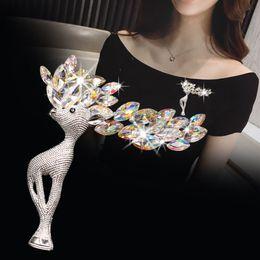 $enCountryForm.capitalKeyWord NZ - Woman headdress hair Colorful plaid (jewelry) Brooch corsage dresses exquisite jewelry gift Korean Korean H0152