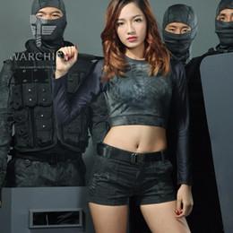 Pantalones cortos tácticos del camuflaje para las mujeres Patrol Camo Pantalones calientes Equipo de entrenamiento de la caza en venta