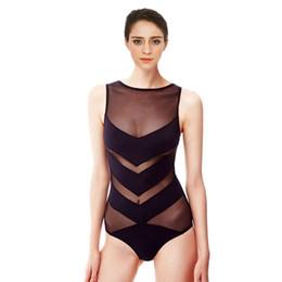 Triangle swim wear online shopping - Mesh Swimsuit New Style Swimwear Women Sexy Monokini Triangle Swim Wear Bathing Suit Bodysuit