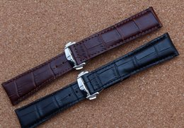 $enCountryForm.capitalKeyWord Australia - New arrival 2017 Watchband Accessories 18mm 19mm 20mm 22mm High Quality Cowhide Leather Watch Straps for Brand Style Men Watches FREE SHIP