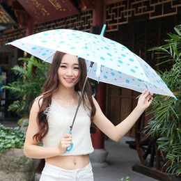 steel for umbrella Canada - EVC Umbrella Dance,Creative and beautiful,Performance Long Handle Umbrellas Beach Wedding Colorful Umbrella for Men Women Kids