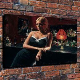 $enCountryForm.capitalKeyWord Australia - Framed Fabian Perez Rose VIII,Pure Hand Painted Impressionism Portrait Art Oil Painting On Thick Canvas.Multi Sizes Free Shipping Fp009