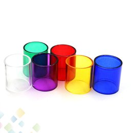 Chinese  Kanger Subtank Mini-C Glass Tube Pyrex Replacement Glass Sleeve Tube for Subtank Mini C Tank Atomizers High quality DHL Free manufacturers