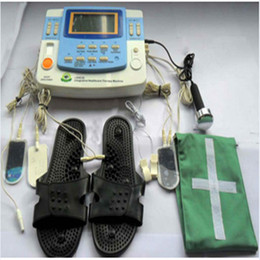 Discount laser ship - electric 10 electrode physical therapy instrument EA-VF29 with ultrasound laser free shipping