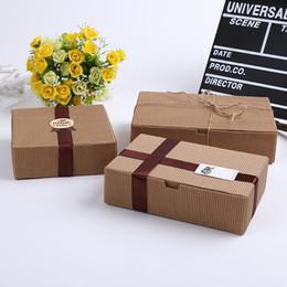 Опт 50 шт. гофрированные крафт-бумаги коробка драгоценный камень подарок мыльница бумажная упаковка подарочная коробка, свадьба ручной работы пищевой пакет