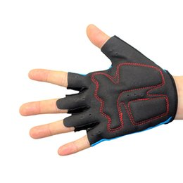 Mountain woMen online shopping - Cycling Gloves Nylon Semi Finger Men and Women Summer Mountain Bike Protect Guantes Outdoor Sports Anti Skid Shock Glove Breathable oy F