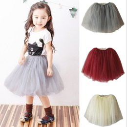 mother daughter tutu skirts UK - baby girl skirts mother and daughter dress boutique girls clothing ruffle kids outfit tutu dresses wholesale baby children clothes XZT019
