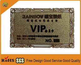Shop visiting cards uk visiting cards free delivery to uk dhgate uk gold color china manufacturer high quality laser cut gold metal business cards metal name card metal visiting card printing reheart Gallery