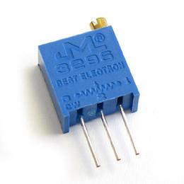 Precision resistors online shopping - W LF W K ohm Top regulation Multiturn Trimmer Potentiometer High Precision Variable Resistor