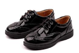 08555fb655 Venda por atacado Sapatos de couro de Criança em Calçados De ...